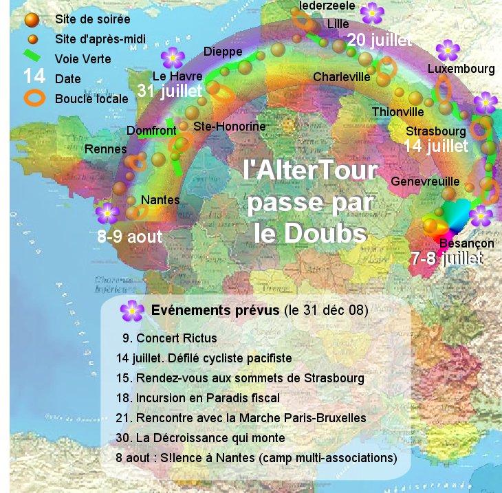 carte france nord