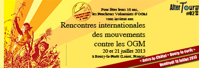 Rencontres Internationales des mouvements contre les OGM